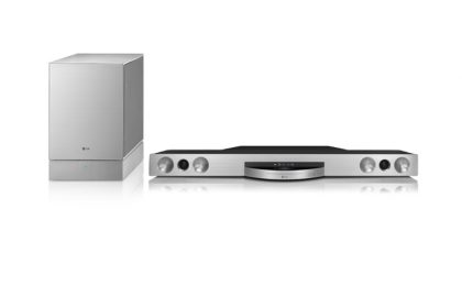 LG SoundBar BB5521A: 3D, Blu Ray e Smart TV per Natale 2012