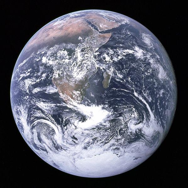 The Blue Marble Terra tutta intera