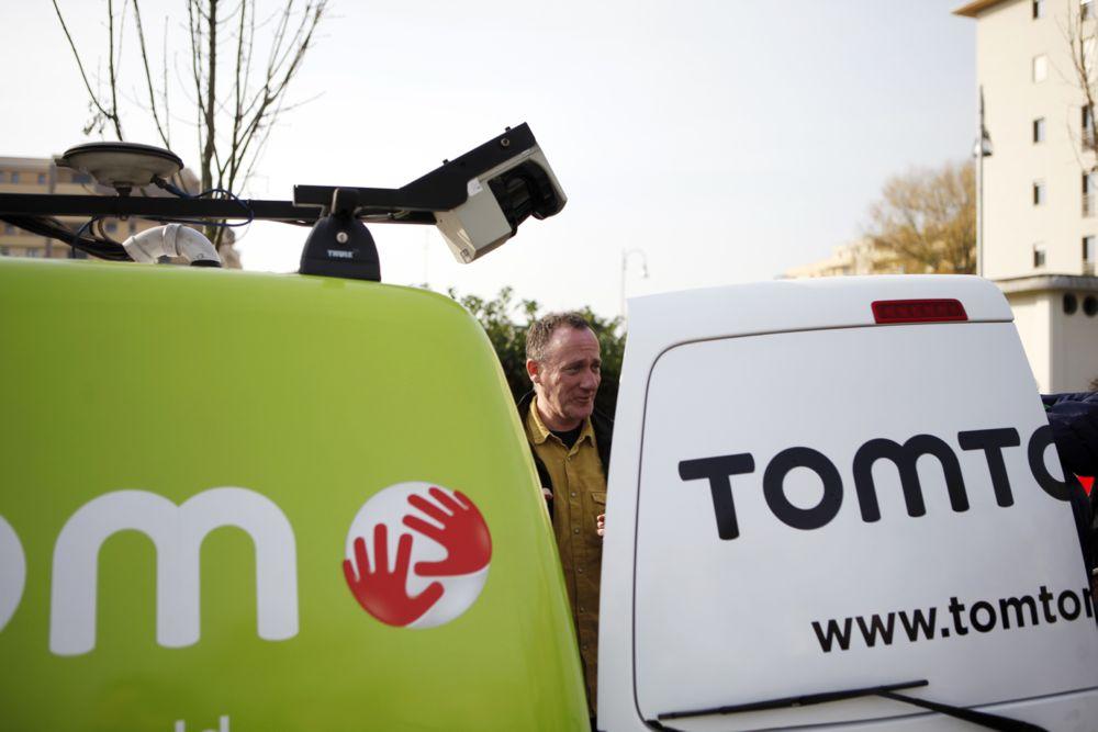 TomTom furgone
