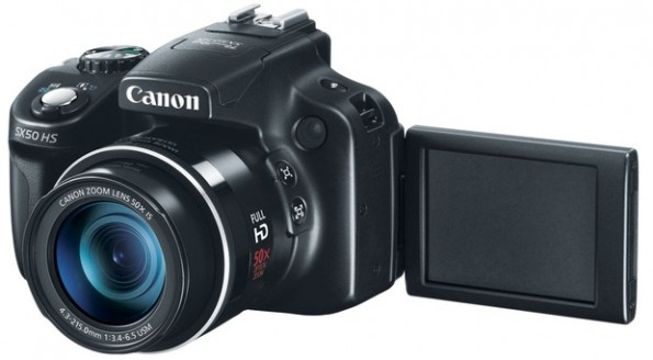 Canon SX50 HS: super-zoom da 50x per Natale 2012 [FOTO]