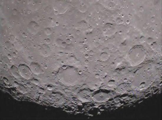 nasa lato oscuro luna