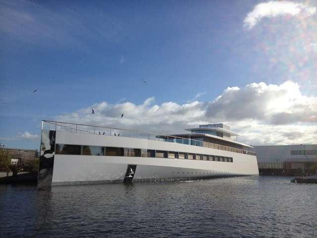 Super yacht di Steve Jobs sequestrato in Olanda [FOTO e VIDEO]