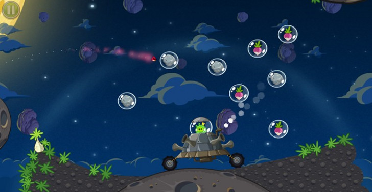Angry Birds Space e Cut the Rope a tutto touch!
