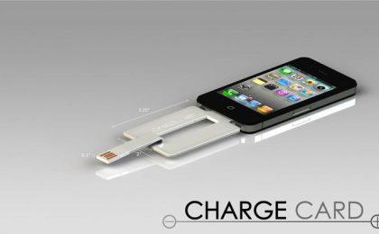 Caricabatterie per iPhone 5 che sta nel portafoglio [FOTO]