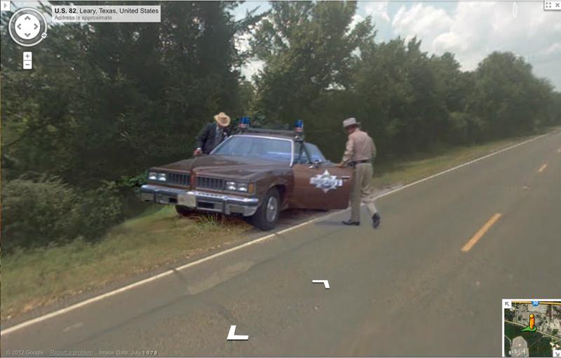 Il Bandito e la Madama Google Street View