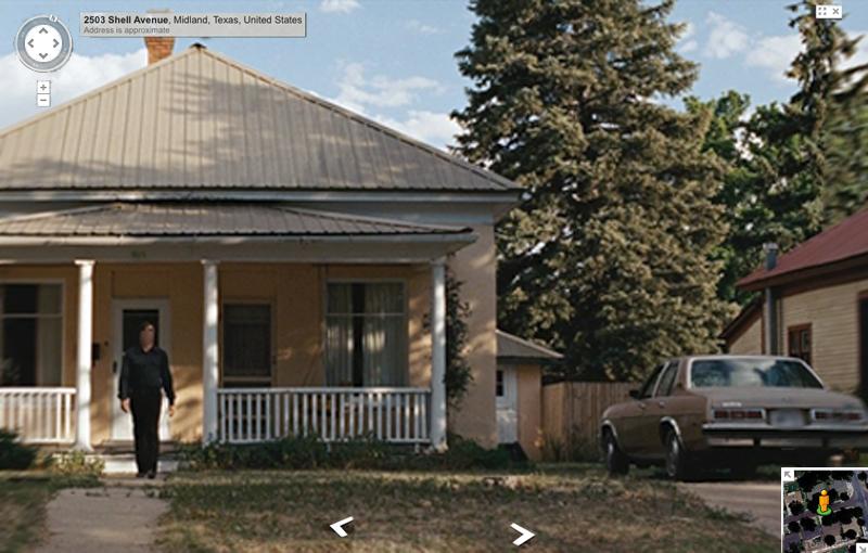 Non è un paese per vecchi Google Street View