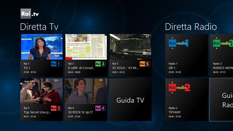 Spegni la TV e accendi Windows 8