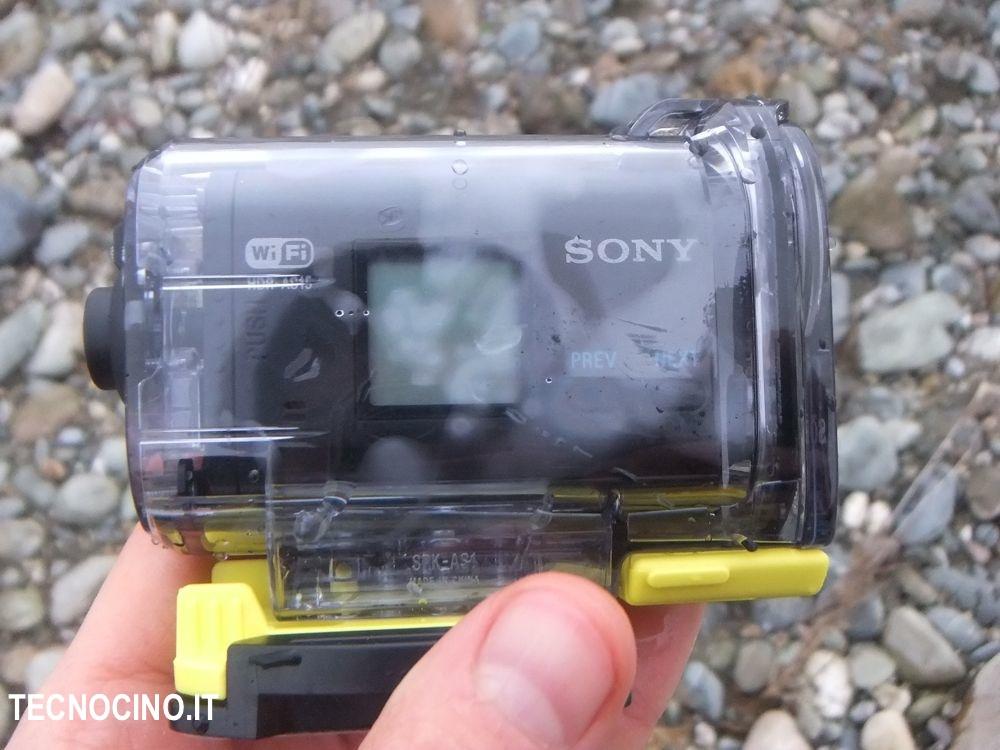 Sony AS15 case appannato