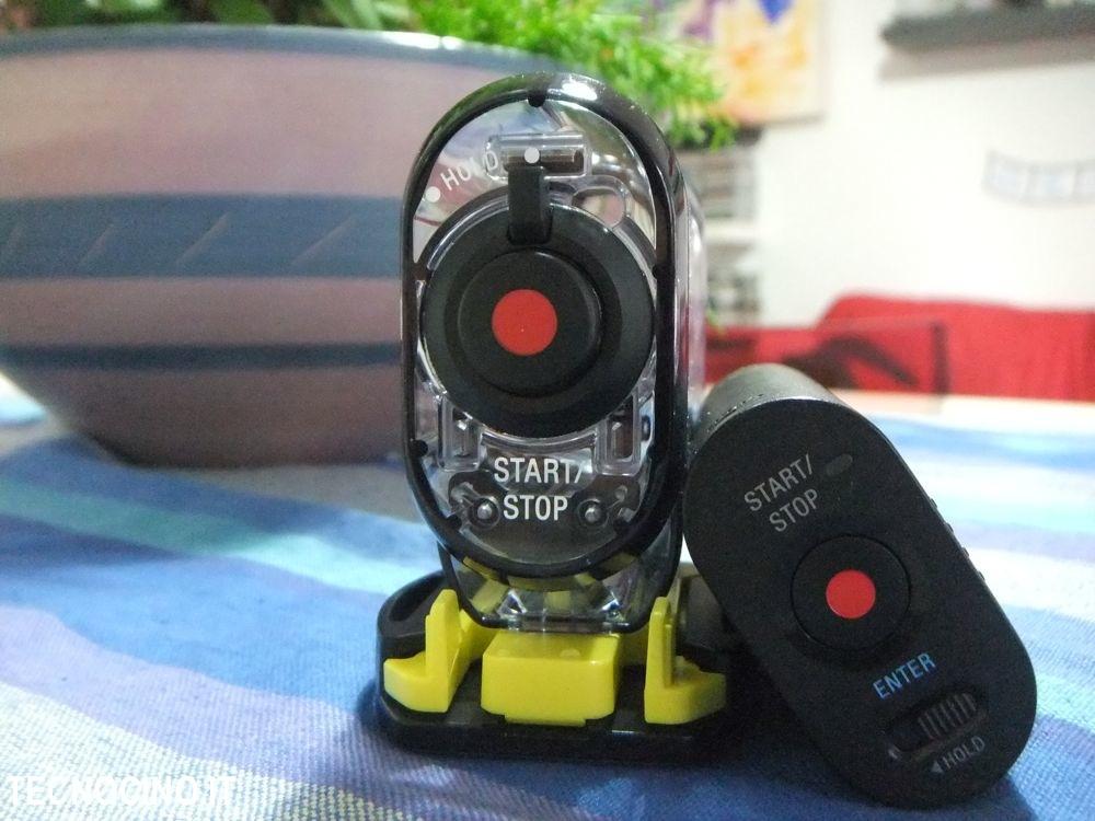 Sony AS15 pulsanti retro