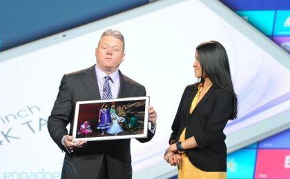 Tablet Panasonic con W8 grande quanto un iMac, al CES 2013 [FOTO]