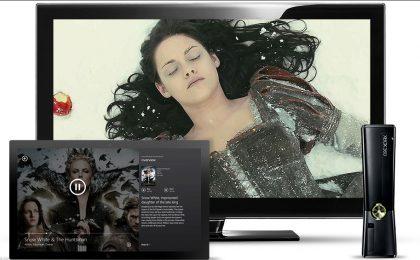 Il Tablet W8 diventa telecomando, cinema tascabile e console con Xbox SmartGlass