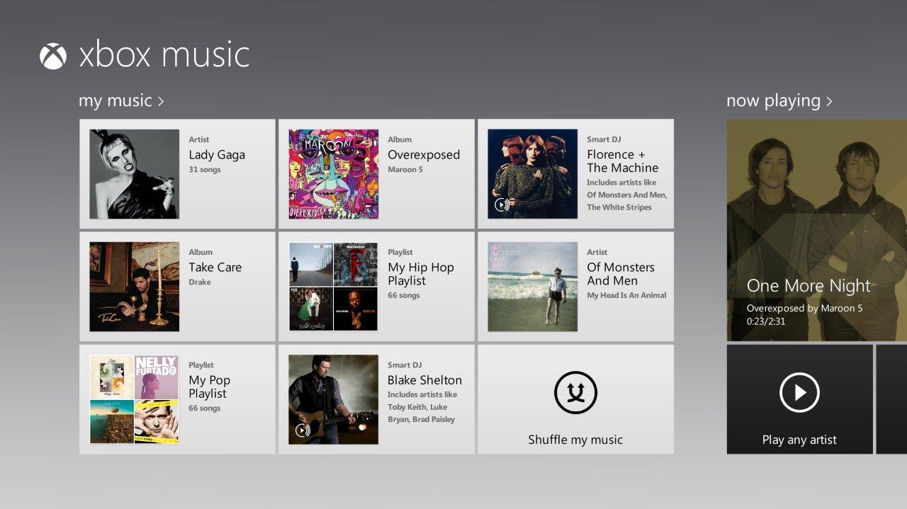 Xbox Music, 80 anni di canzoni ininterrotte
