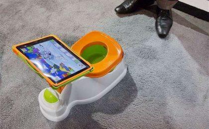 iPotty, il ridicolo vasino con porta iPad [FOTO]