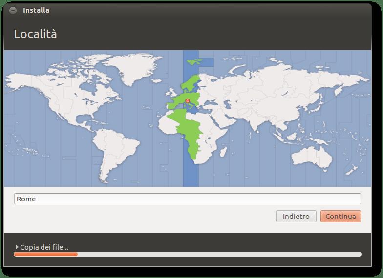 Come installare Ubuntu fuso