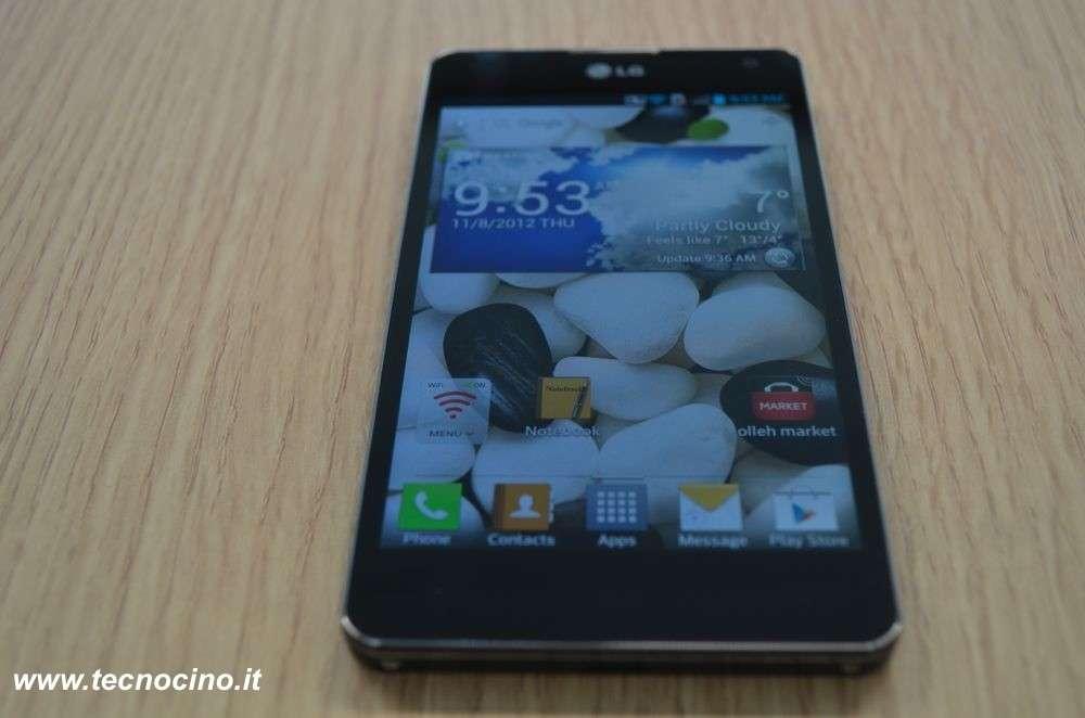 LG Optimus G: prezzo di 599€, la nostra anteprima [FOTO e VIDEO]