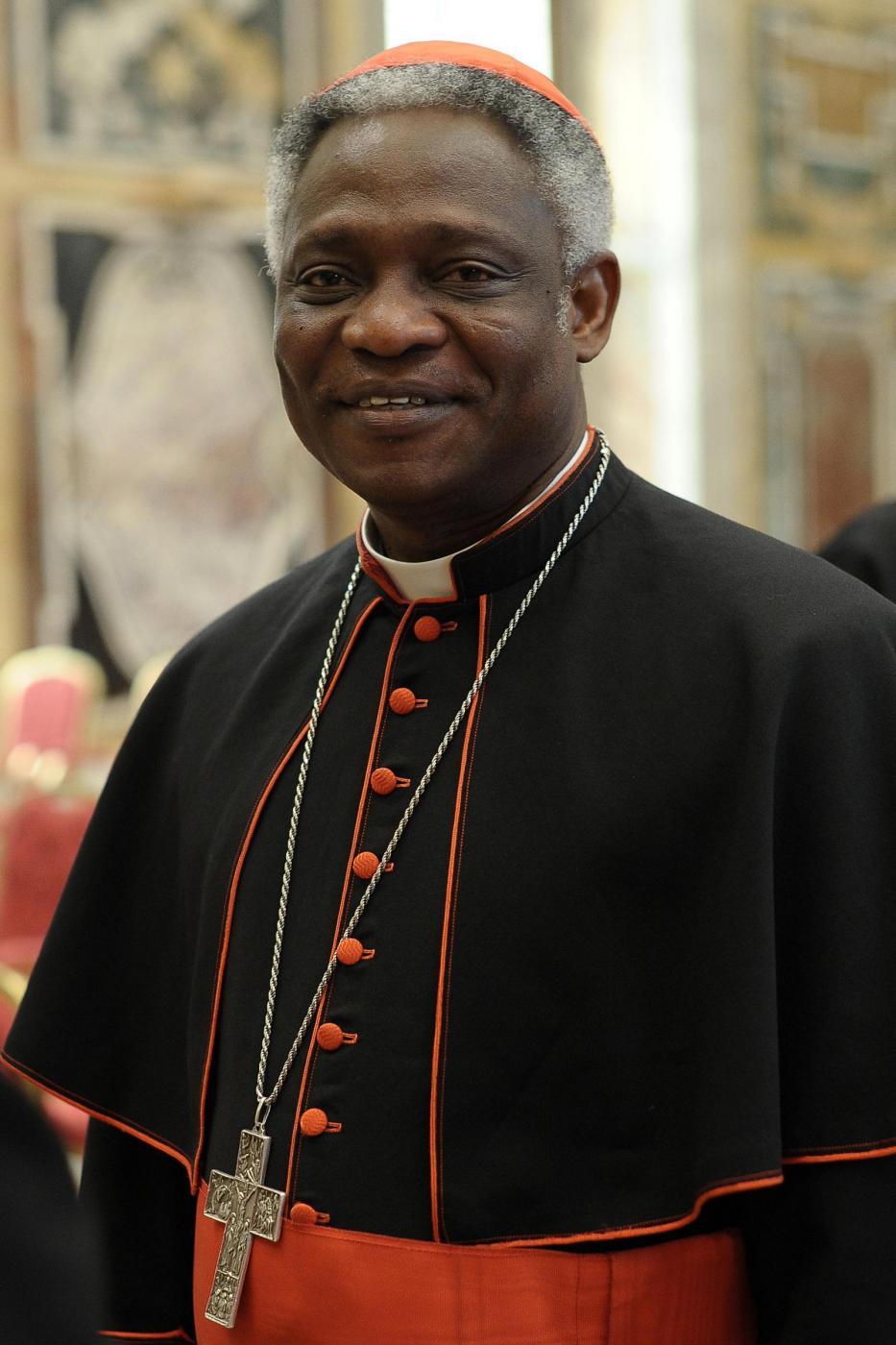 Il cardinale ghanese Peter Kodwo Appiah Turkson