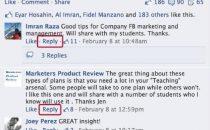 Facebook apre alla risposta diretta ai commenti, era ora