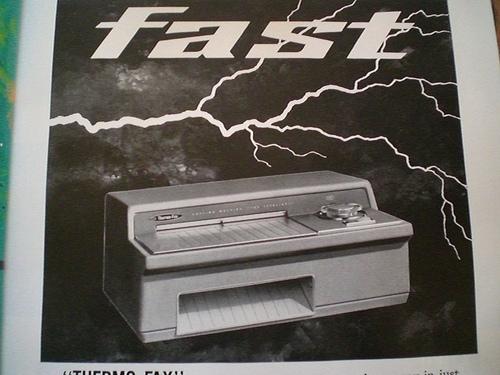 Fax obsoleto
