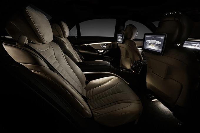 Mercedes Benz S Class il sistema multiutente
