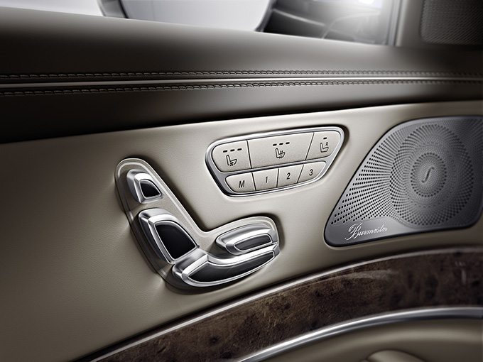 Mercedes Benz Classe S controller sedili
