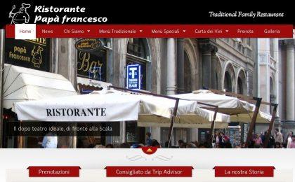 Papà Francesco: boom del ristorante milanese grazie a Bergoglio