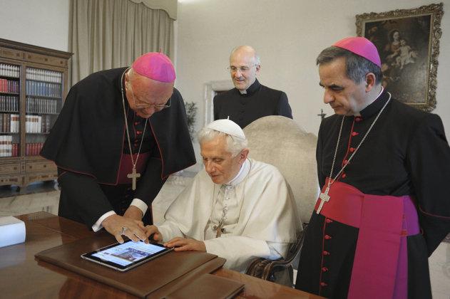 Papa Twitter iPad