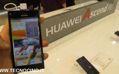 Huawei Ascend P2: prezzo di 399 euro per il quad core [FOTO e VIDEO]