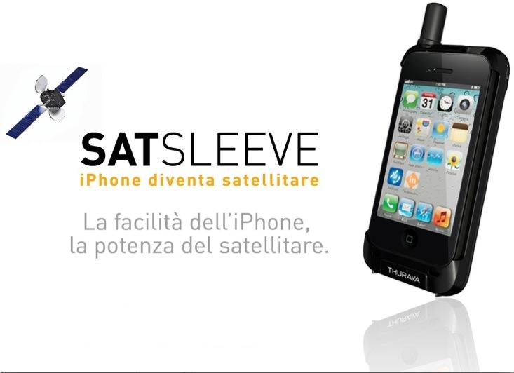 Trasforma iPhone in cellulare satellitare con SatSleeve