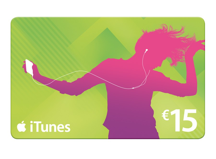iTunes Gift Card 15 euro