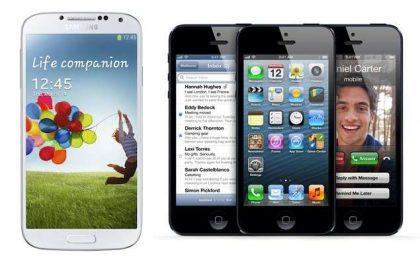 Samsung Galaxy S4 vs iPhone 5: confronto tra giganti [FOTO]