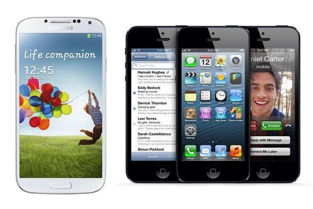 Samsung Galaxy S4 vs iPhone 5: confronto tra giganti [FOTO]