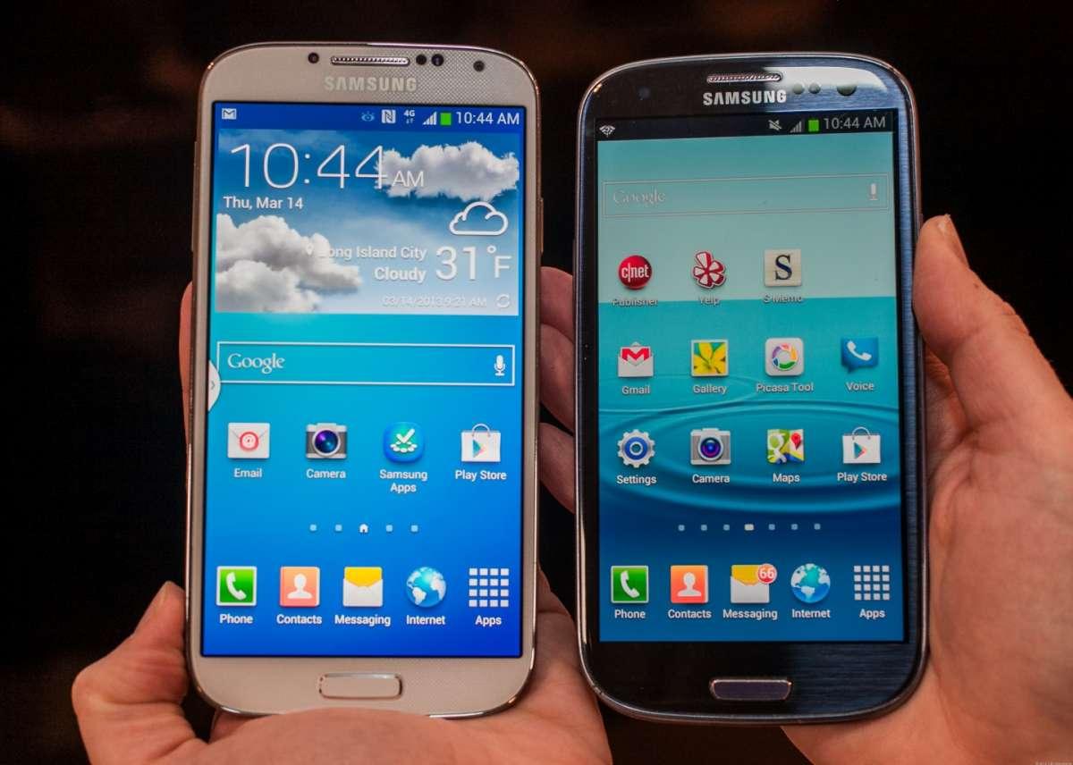 Samsung Galaxy S4 vs S3, il confronto: cosa cambia [FOTO]