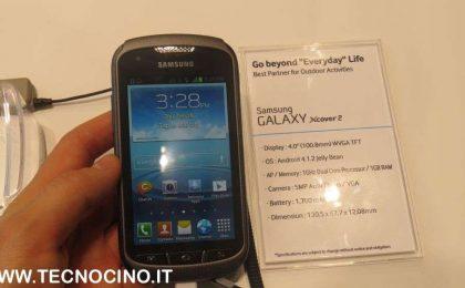 Samsung GALAXY Xcover 2: anteprima dell'indistruttibile [VIDEO]