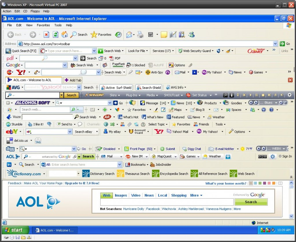 Come eliminare i toolbar facilmente