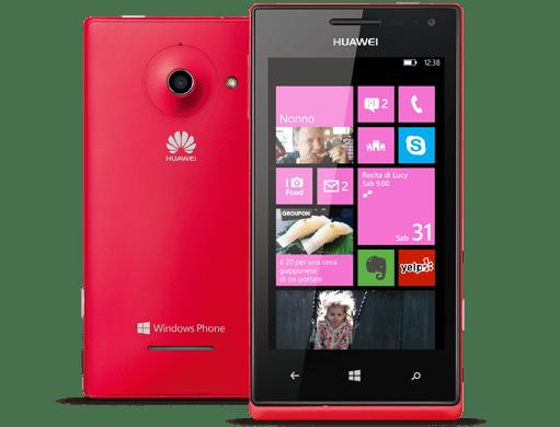 Huawei Ascend W1 Windows Phone