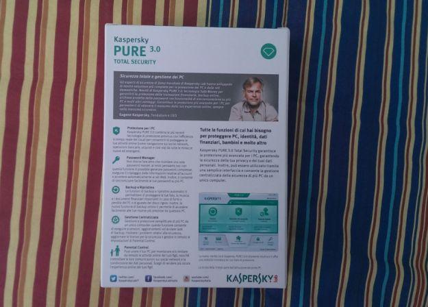 Kaspersky Pure 3.0, recensione: non chiamatelo solo antivirus