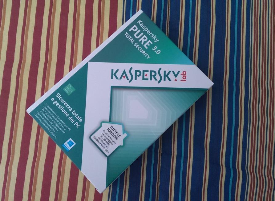 Kaspersky Pure 3.0: protezione totale sul web