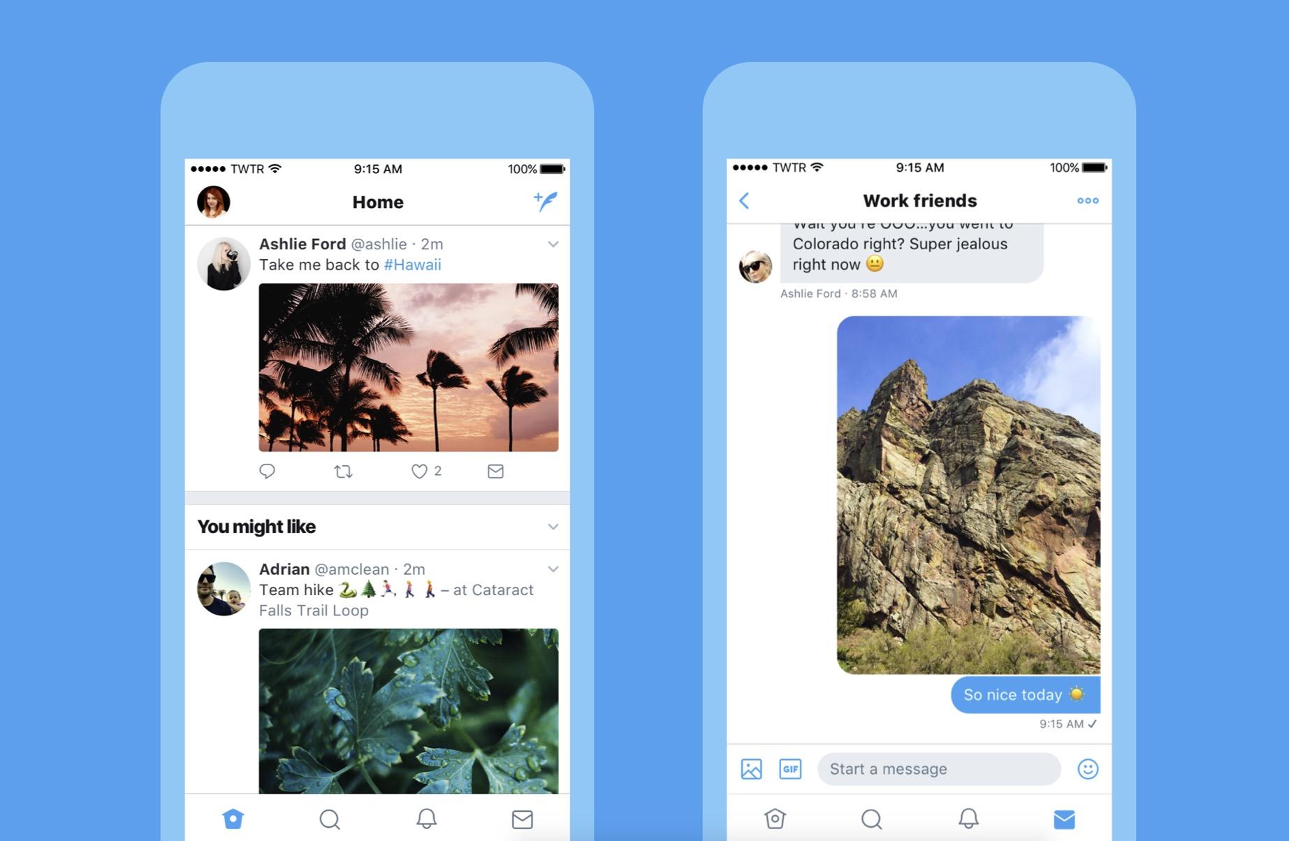 Twitter per iOS aggiornamento