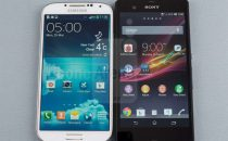 Samsung Galaxy S4 vs Sony Xperia Z: confronto-scontro [FOTO&VIDEO]
