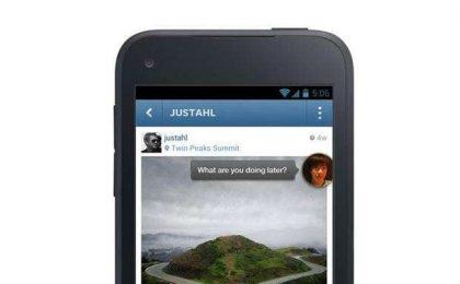 "Facebook Home: uno speciale ""screensaver"" per Android [FOTO]"