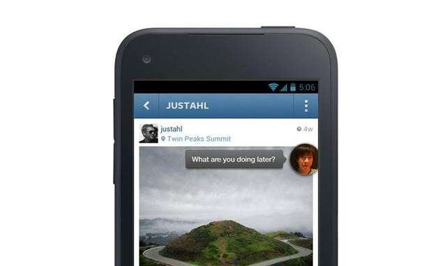 "Facebook Home: uno speciale ""screensaver"" per Android [FOTO]"