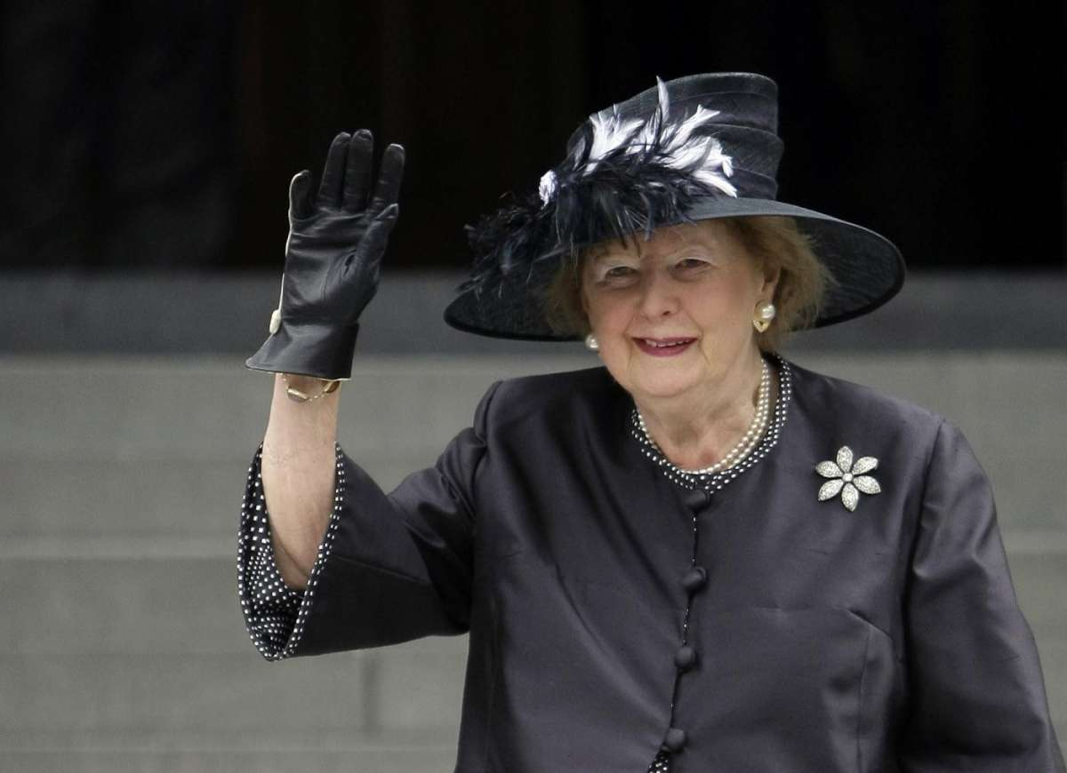 Margaret Thatcher è morta: frasi e ricordi su Twitter [FOTO]