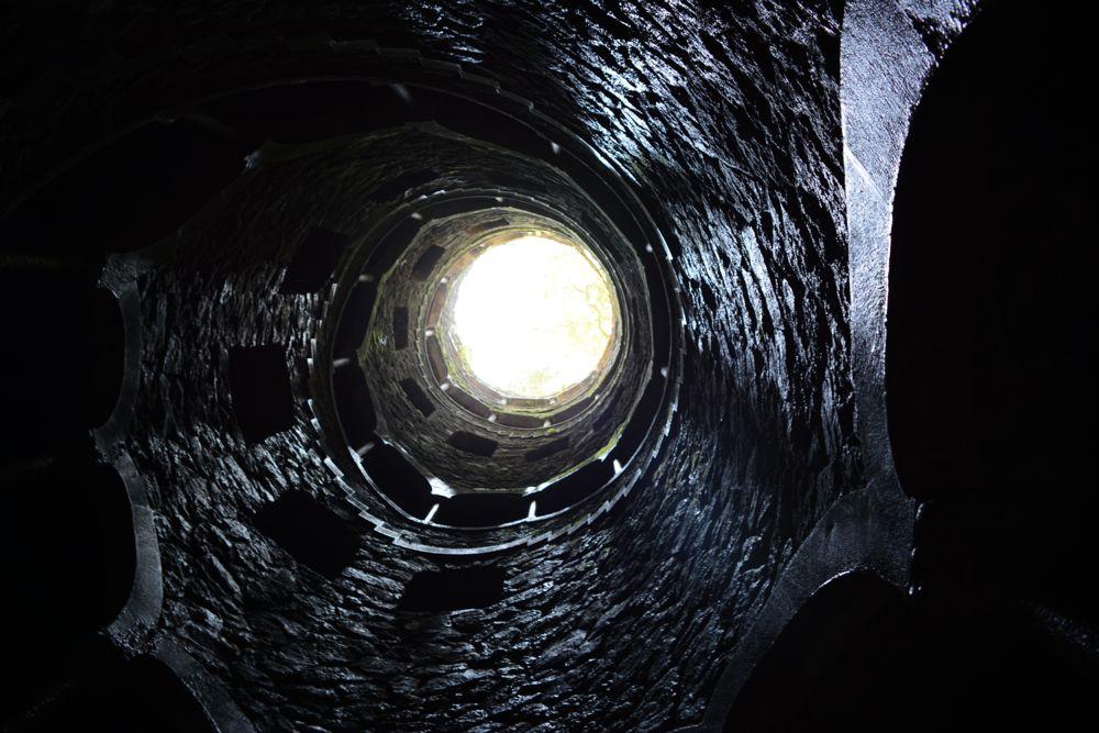 pozzo dell'adepto visto dal basso