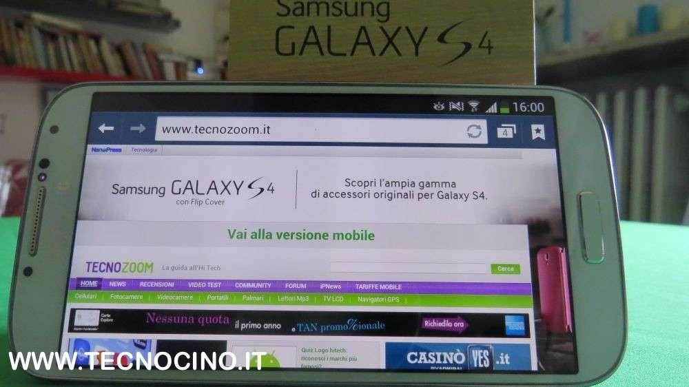 Samsung Galaxy S4 con Vodafone, TIM e Tre: prezzi e offerte [FOTO]