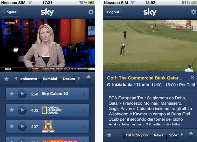 sky go iphone