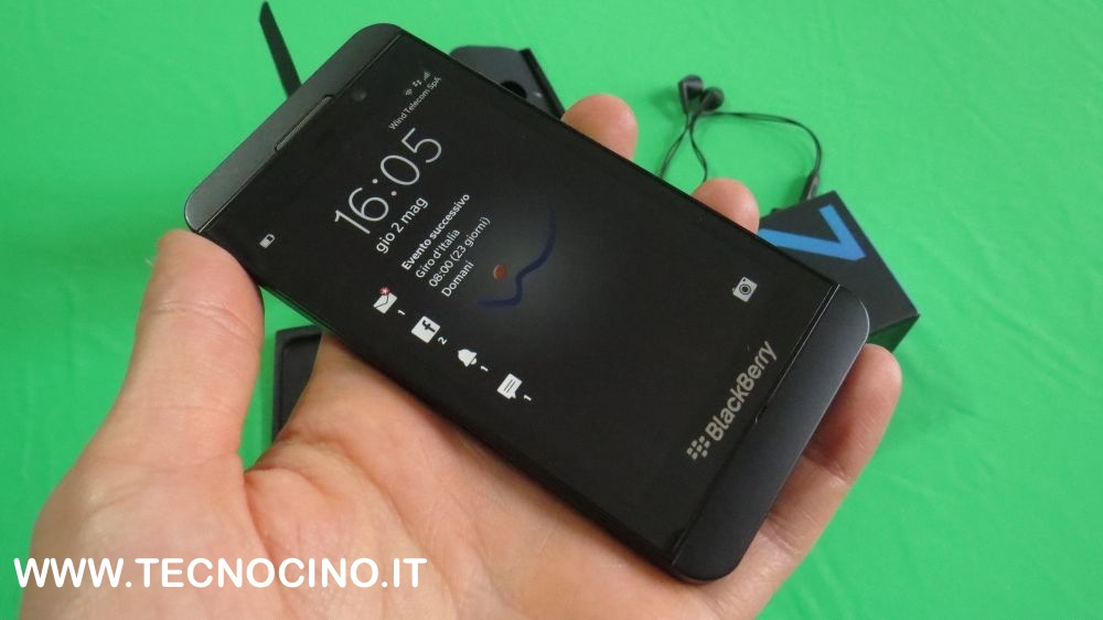 Blackberry Z10 hands on
