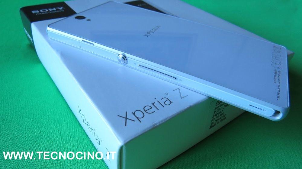 Sony Xperia Z design