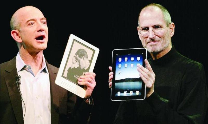 Steve Jobs vs Amazon: il cartello sul prezzo degli ebook