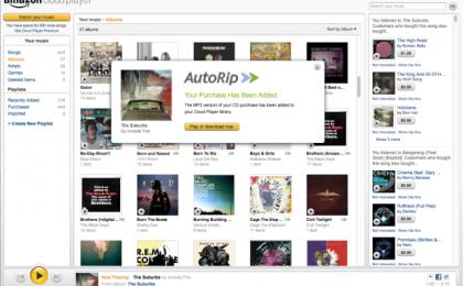 Amazon Autorip in Italia: mp3 gratis per ogni CD acquistato