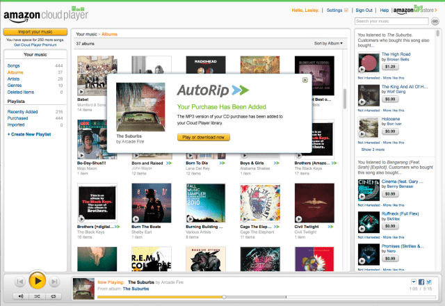 Amazon Autorip in Italia: mp3 gratis per ogni CD acquistato